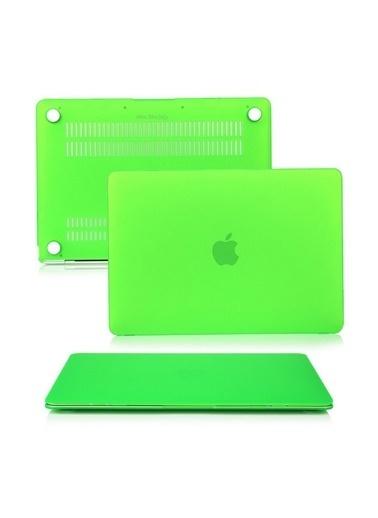 "Mcstorey MacBook Air A1465  A1370 11.6"" Kılıf Kapak Koruyucu Hard Incase Mat Yeşil"